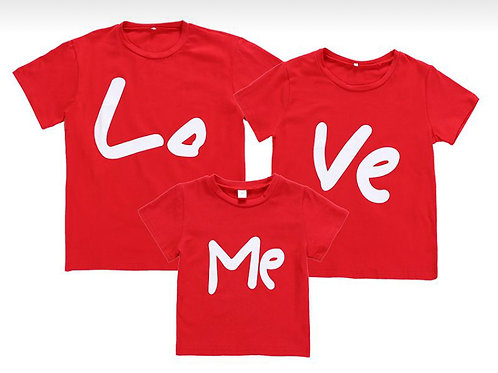 Love Me Family Shirts