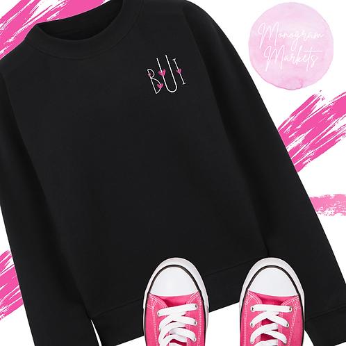Monogram Valentine Sweatshirt