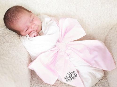 Baby Monogrammed Swaddle Sash