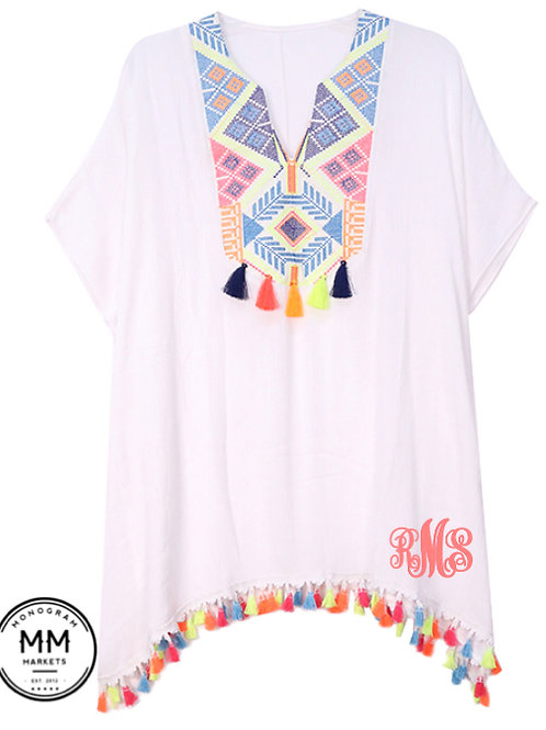 Totally Tassel Swim Coverup