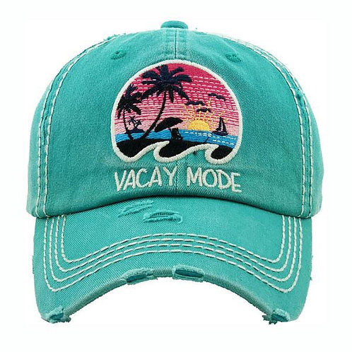 Vacation Mode Cap