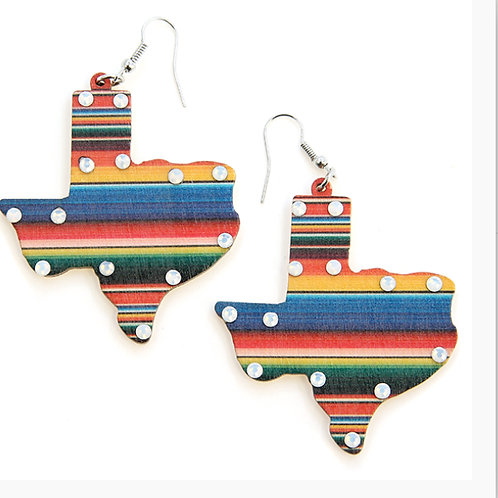 Texas Serape Earrings