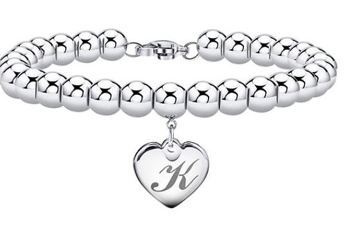 Personalized Beaded Initial Bracelet