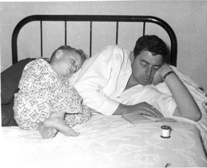 John Todd Sr and young Jack Todd