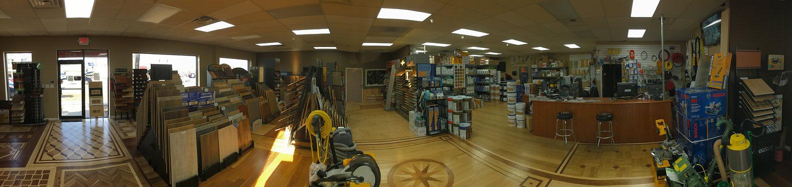 Inside Tristar Floor Supply