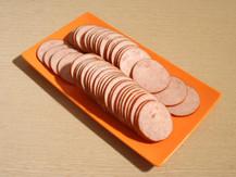 둥근 햄 절단(Round ham)