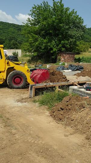 Събаряне на къщи и селскостопански постройки