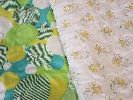 Yardage Quilts by Mary (Grandma) Hansen