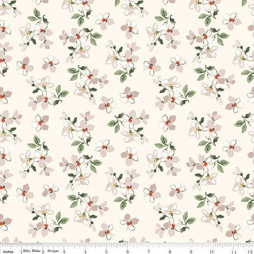 Farmhouse Floral Toss Cream