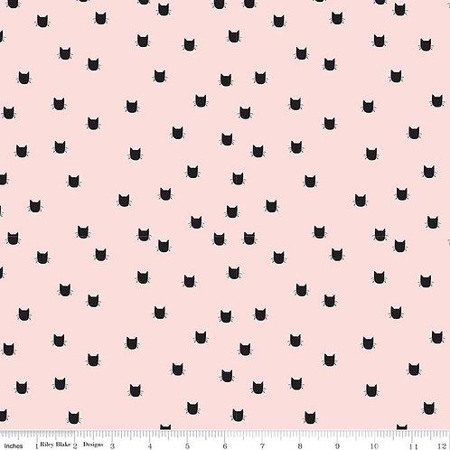 Double Gauze Cat Pink