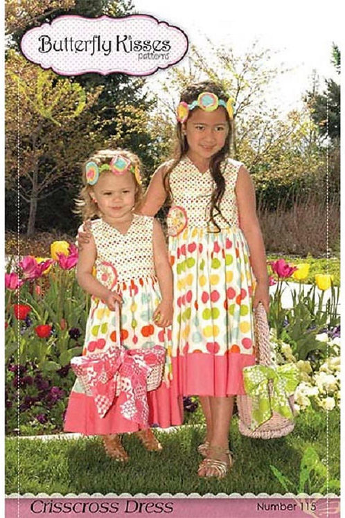 Crisscross Dress Butterfly Kisses Pattern