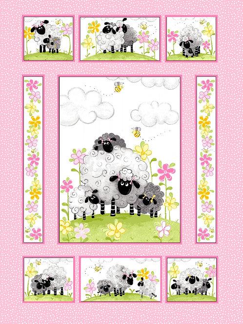 Pink Lal the Lamb Panel