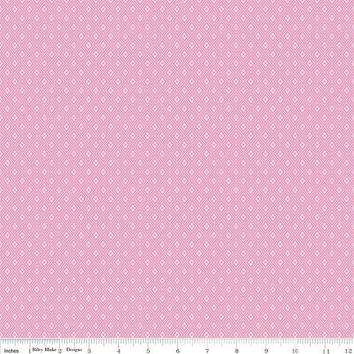 Happiness is Homemade Geometric Pink