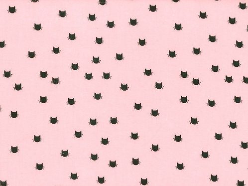 Flannel Meow Dot Pink