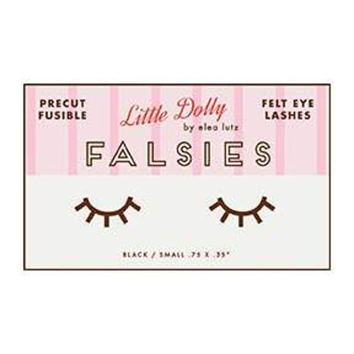 Dolly Precut Fusible Felt Eye Lashes