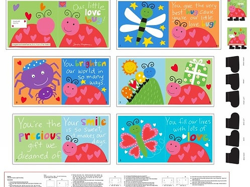 "36"" ""Love Bug"" Book Panel"