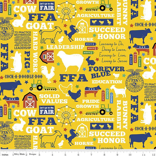 FFA® Forever Blue® Main Gold