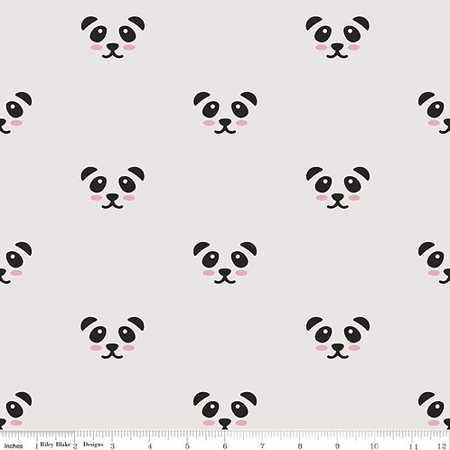 Double Gauze Panda Grey