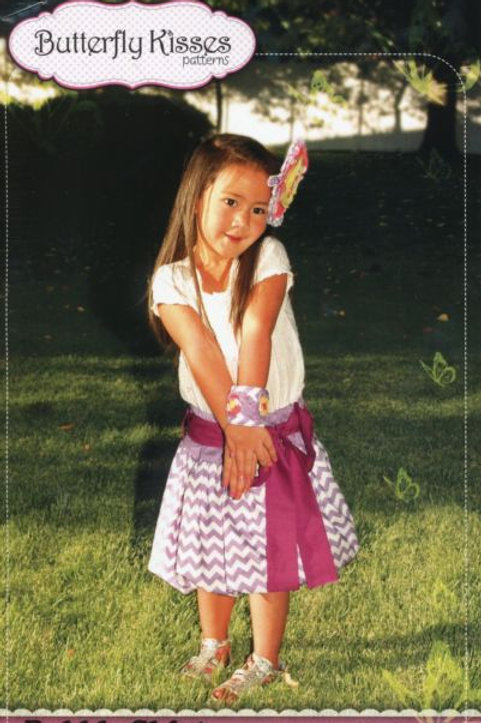 Butterfly Kisses Patterns Bubble Skirt