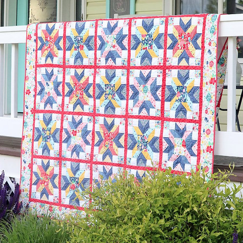 Cornerstone Quilt Pattern by doohicky designs by Shari Butler
