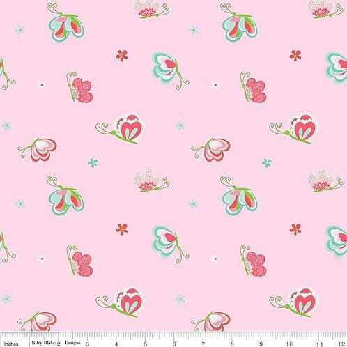 Butterflies & Berries Strawberries Mint