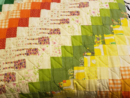 Springtime Quilt, made by Mary Hansen