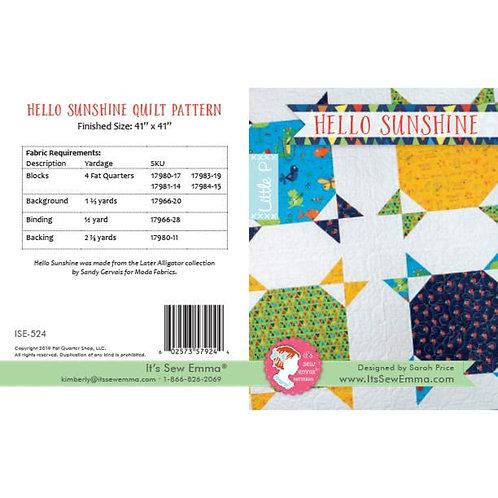 It's Sew Emma Hello Sunshine Quilt Pattern