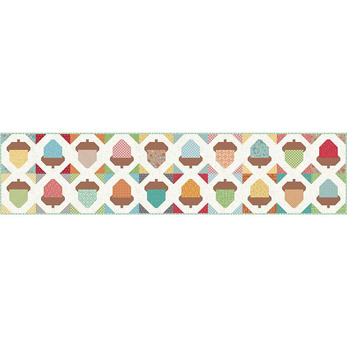Autumn Love Acorn Table Runner Kit by Lori Holt