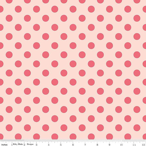 In Bloom Dot Pink