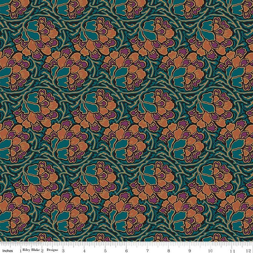 The Hesketh House Collection Dianthus Dreams Dark Green