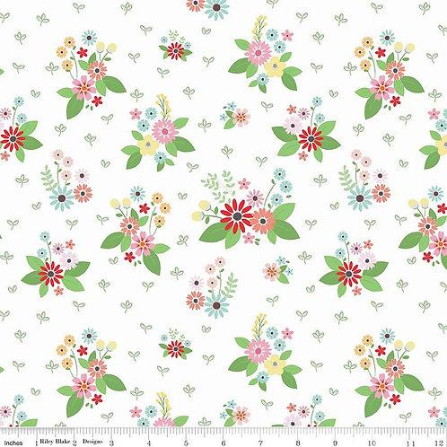 Vintage Keepsakes Floral White