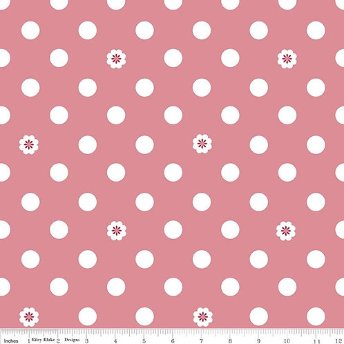 Hello, Lovely! Dots Pink