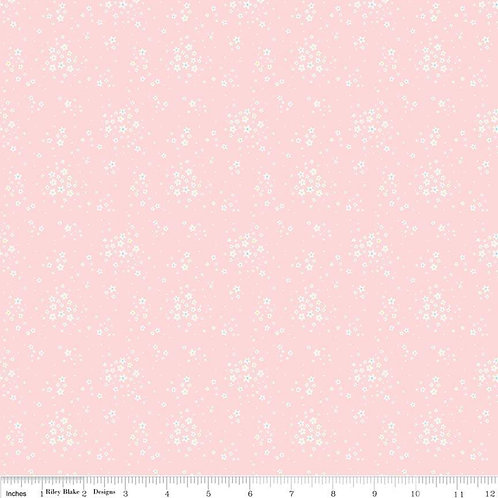 Bunnies & Blossoms Floral Pink