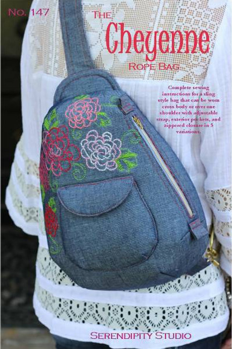 The Cheyenne Rope Bag by Serendipity Studio