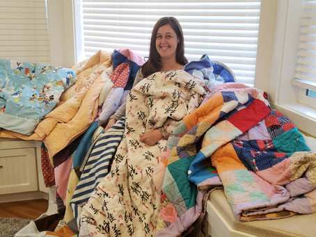 Pile of Quilts
