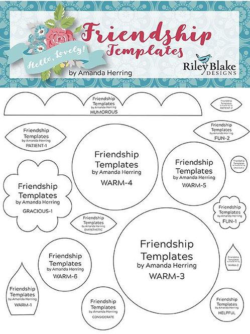 Amanda Herring Friendship Templates
