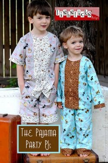 The Pajama Party PJs Pattern by Fishsticks
