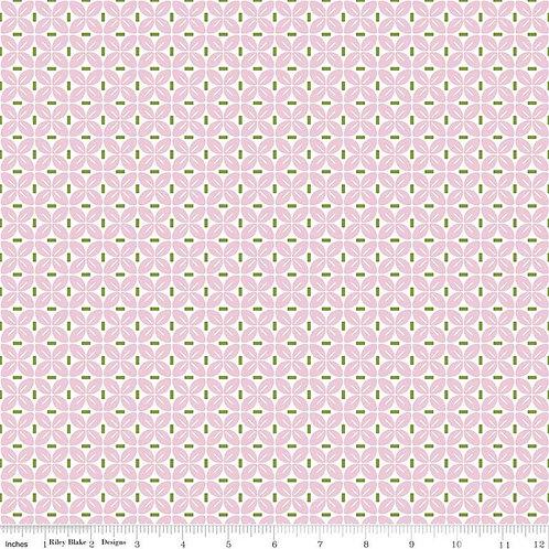 Sew Cherry 2 Leaf Pink