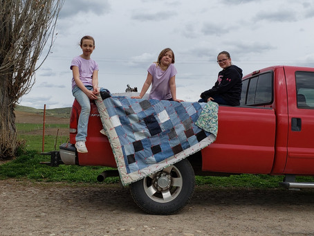 Levi Quilt & the Red Truck