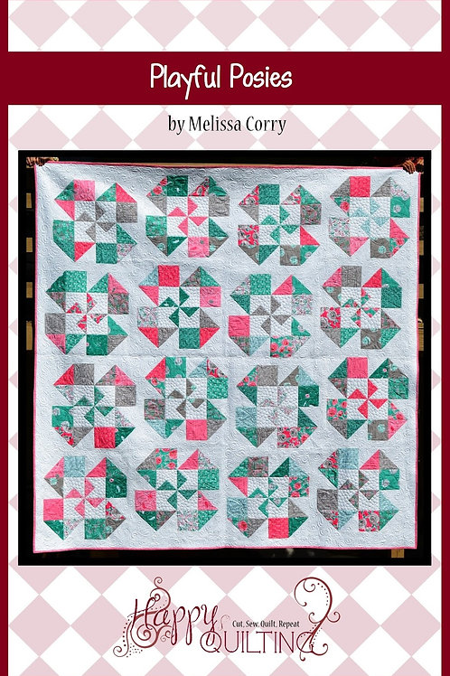 Playful Posies Pattern by Melissa Corry