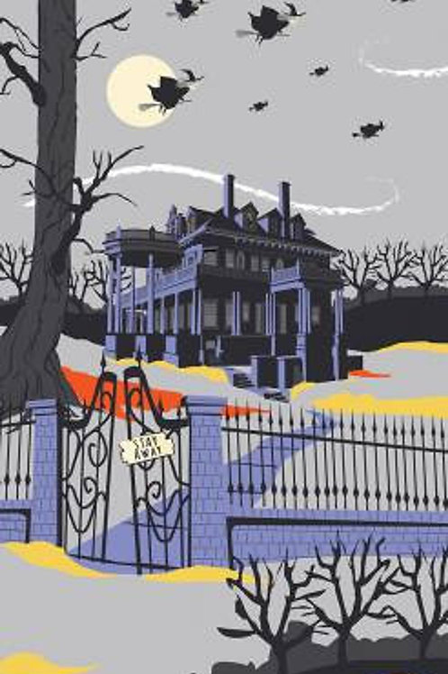 Haunted House Gray