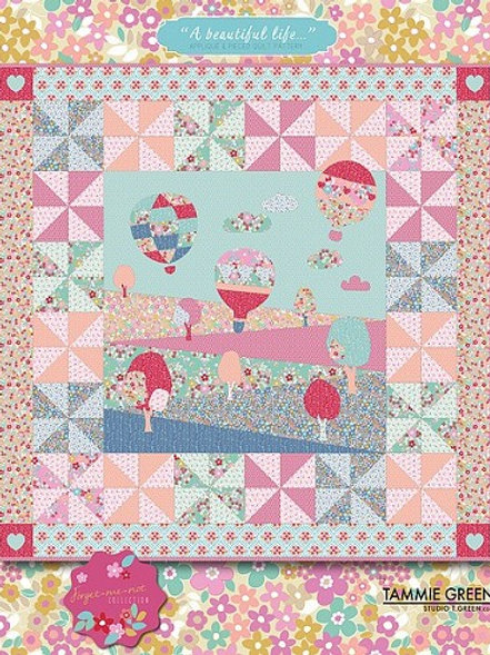 """Forget me not Collection """"A beautiful Life"""" Pattern by Studio Green"""
