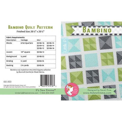 It's Sew Emma Bambino Quilt Pattern