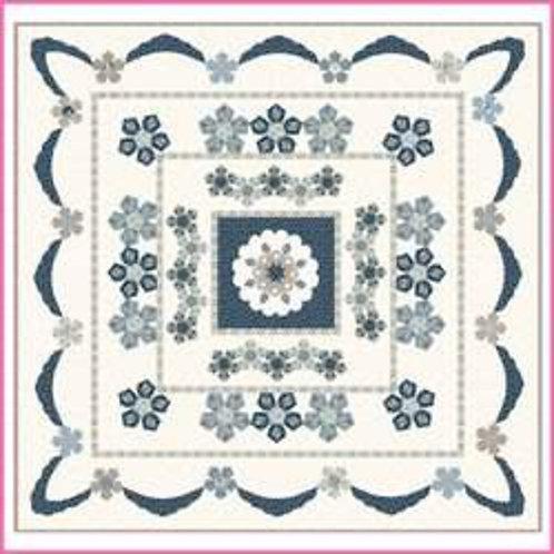 Sue Daley Designs Azure Rose Quilt Pattern