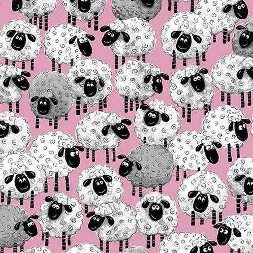 Pink Lal the Lamb Sheep Allover