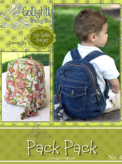 Pack Pack Pattern by GoLightly Sewing Studio