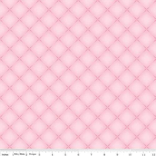 English Rose Cushion Light Pink
