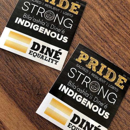Indigenous Pride Sticker
