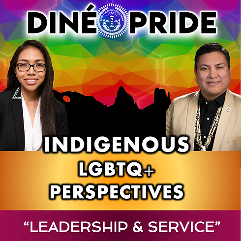 Indigenous LGBTQ+ Perspectives - Leadership & Service
