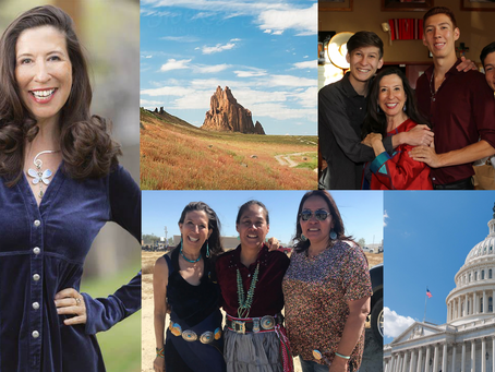 Teresa Leger Fernandez - Our Congresswoman & Advocate for the Navajo Nation LGBTQ+ Community